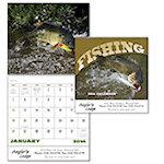 Fishing Spiral Wall Calendars
